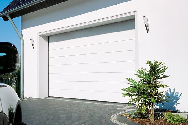 Garageport-vit i bästa kvalitet