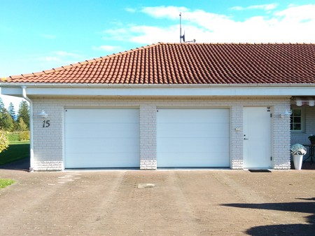 Garageportar CarTeck till dubbelgarage