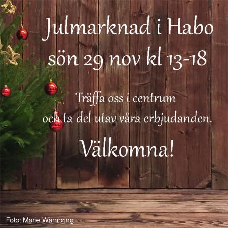 Julmarknad-Habo