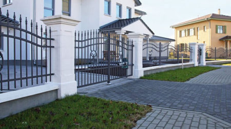 Lux dubbelgrind staket