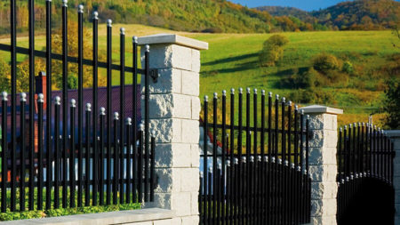 Svart staket premium