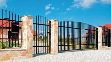 vario staket svart